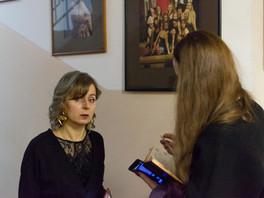 Эксклюзивное интервью с художницей Ириной Миклушевской.