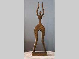 Новые поступления: скульптура Вадима Сидура «Нимфа» из цикла «Неосалон», 1981г.