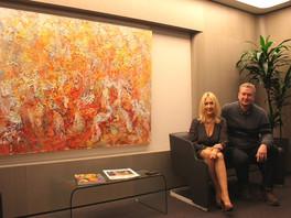 Новые картины Сергея Федотова создали неповторимый индивидуальный стиль штаб-квартиры компании «НОВА