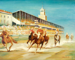 """""""Racing. The Moscow Hippodrome"""""""