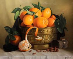 Натюрморт с мароканскими апельсинами