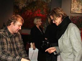 Открытие персональной выставки и презентация альбома художника Сергея Федотова.