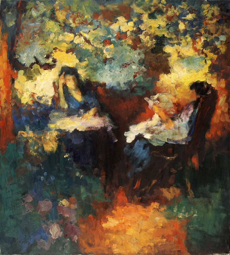 """In the orchard"""