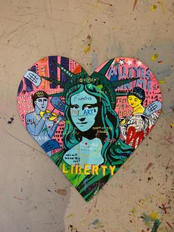 """""""Mona of Liberty Heart"""""""