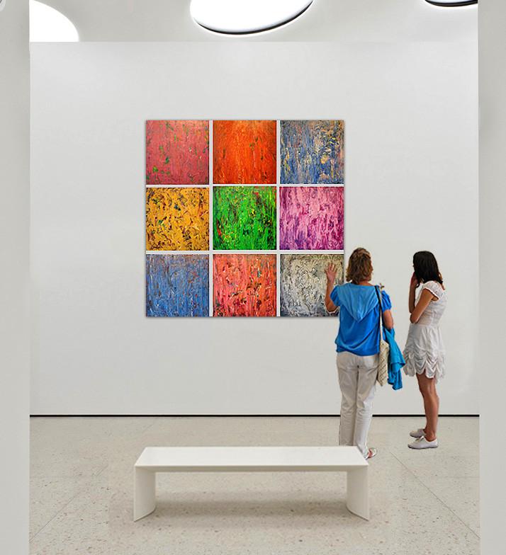 """Sergey Fedotov's installation """"Quarks"""""""