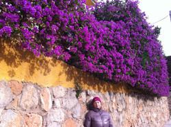 """Winter in Spain. Mama"""