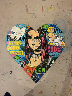 """Punk Mona Heart"""