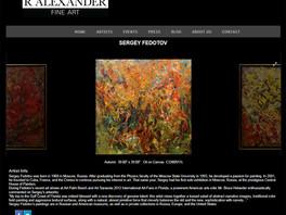 Продолжается интерес к творчеству Сергея Федотова со стороны американских интернет-ресурсов.
