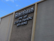 "A meeting with the owner of the ""Rosenbaum Contemporary"" gallery Mr. Marvin Rosenbaum and"