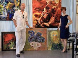Команда Галереи Валентина Рябова посетила галерею «Gallery on Fifth» (Naples, Florida, USA).