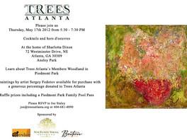 Картины Сергея Федотова представлены на благотворительном аукционе в Атланте (США).