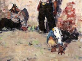На сайт добавлены картины советских художников Бориса Иорданского и Геннадия Старовойтова.