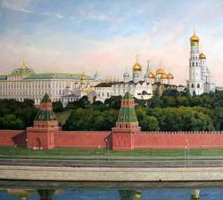 """""""Кремль утром"""""""