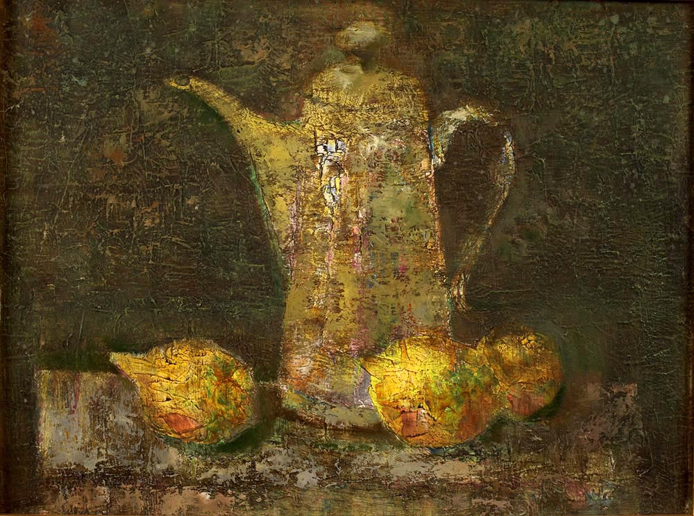"""Still life with a teapot"""