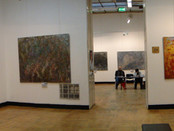 Exhibition of paintings by Sergey Fedotov in the Central House of Artists, Moscow.