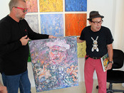 "Events, concluding Sergey Fedotov's solo show took place at the ""The ArtHouse 429"" gal"