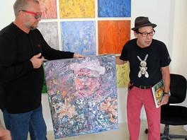 """В галерее """"ArtHouse-429"""" (США) завершилась персональная выставка Сергея Федотова."""