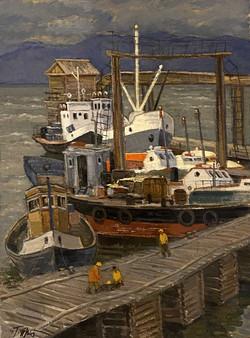 """""""Harbor on Baikal"""""""