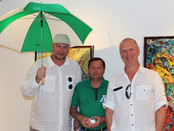 "Photo report with ""Green umbrella"" from the ""ArtHouse 429"" gallery, West Palm Be"