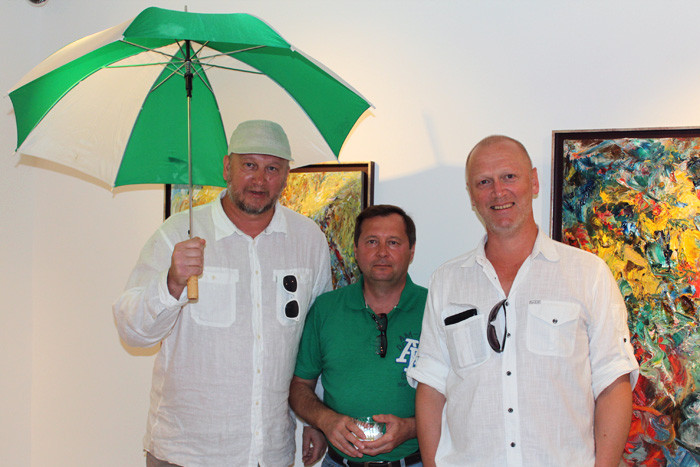 "Sergey Fedotov in the ""ArtHouse 429"" gallery"