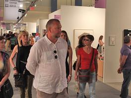 Сергей Федотов на выставках «Art Miami» и «Art Basel», США.
