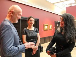 Галерея Валентина Рябова приняла участие в открытии выставки картин из собрания Приморской Государст