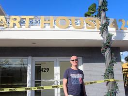 Фоторепортаж об открытии галереи «Art House 429» (West Palm Beach, Florida, USA), американскому зрит