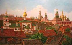 """""""Подол Московского Кремля в XVII в."""""""