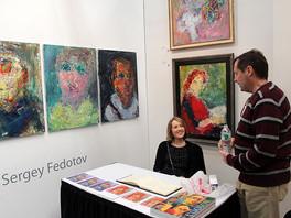 Фоторепортаж с выставки Art Expo 2014, Нью-Йорк, США.