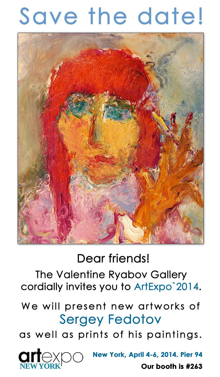 The Valentine Ryabov Gallery invites you to ArtExpo'2014