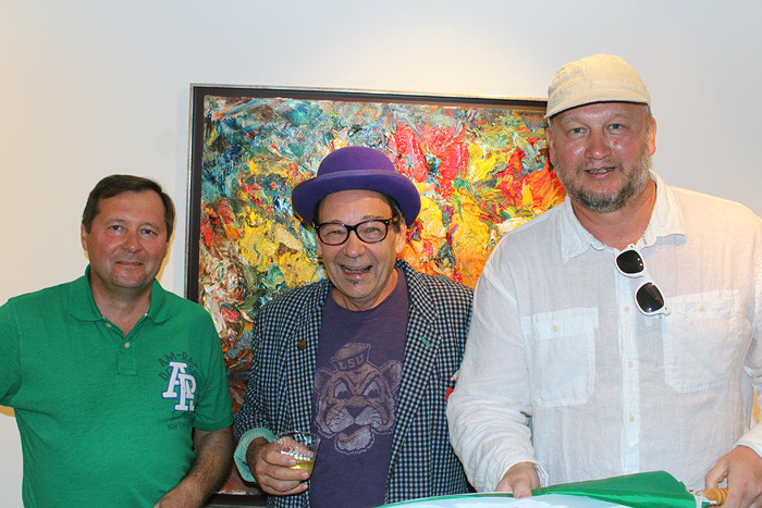 """Sergey Fedotov in the """"ArtHouse 429"""" gallery"""