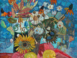Выставка художника Бориса Белянина (1925-2010гг.) в залах галереи.
