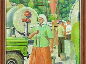 Новые поступления! Картина Розалии Моисеевны Рабинович.
