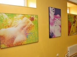 В пригороде Санкт Петербурга прошла выставка эротического искусства «Адамово яблоко».