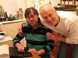 Встреча с Заслуженным художником России, академиком РАХ Ильясом Айдаровым.