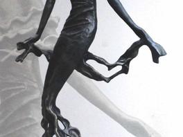 Скульптор Олег Закоморный выполнил ряд замечательных работ в бронзе.
