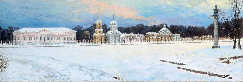 """Зима в Кусково"""