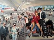New arrivals! Painting by Aleks Kontr.