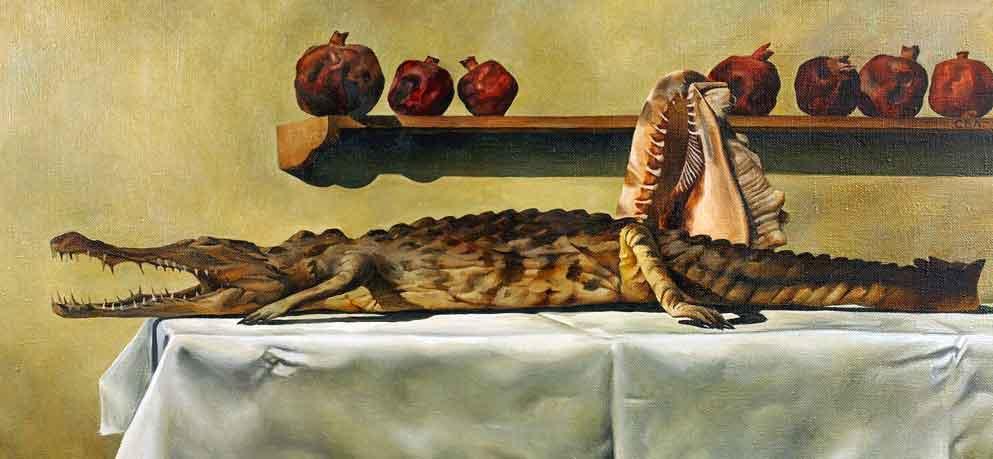 """""""Натюрморт с крокодилом"""""""