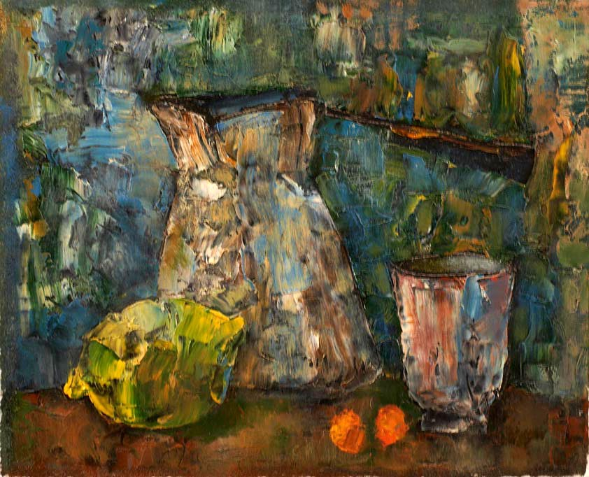 """Still life with a cezve"""