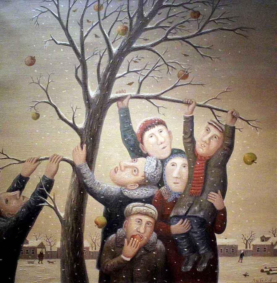 """Последние яблоки"""