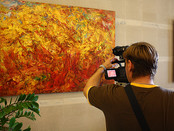 "A large exposition of paintings by Sergey Fedotov, the project ""Artist Sergey Fedotov in Moscow"