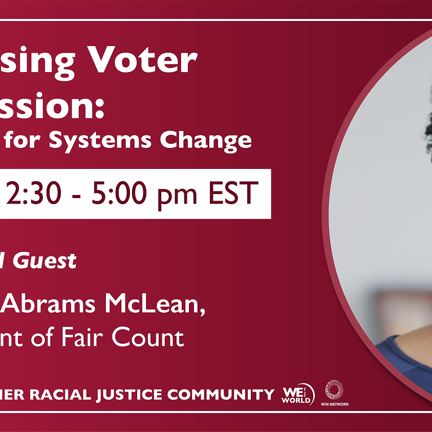 Action Lab for System Change: WE WIN Racial Justice Community