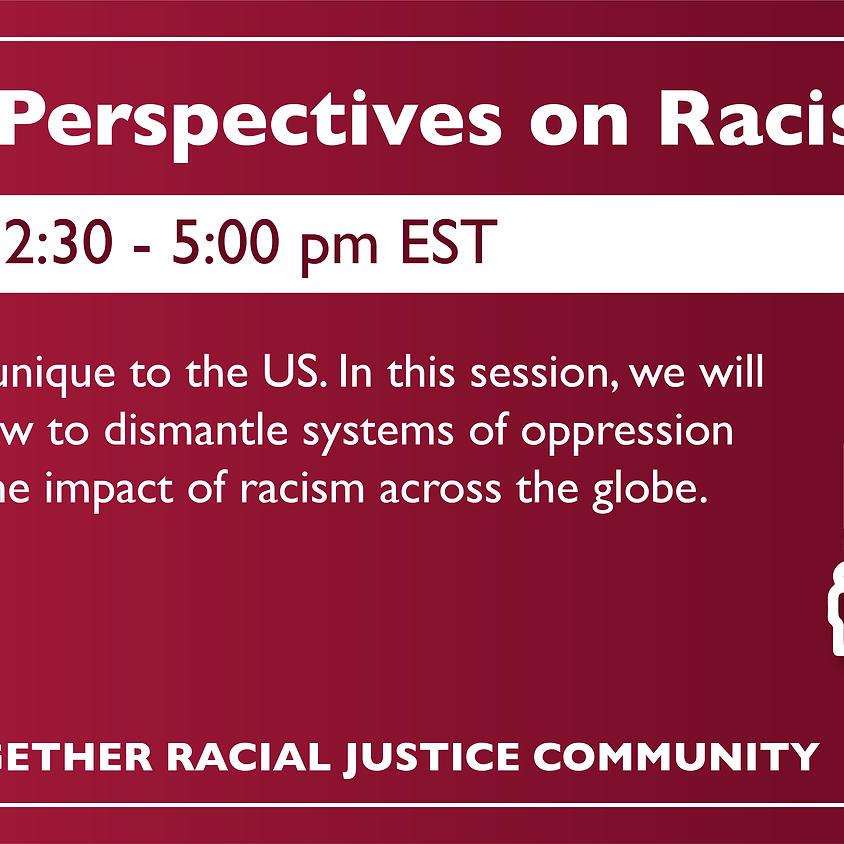 Global Perspectives on Racism