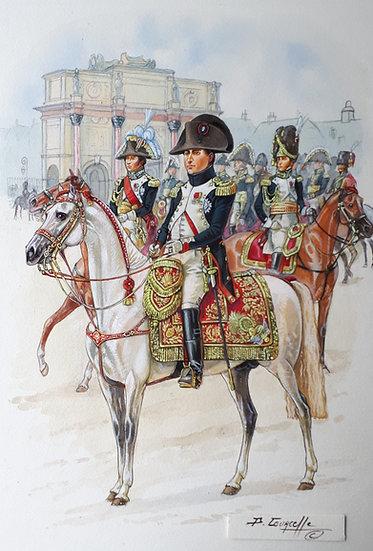 N&B Tirage 05 - Napoléon Carrousel 1811