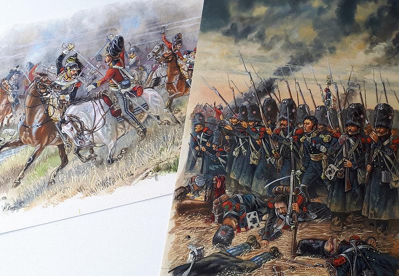 Tirages des 2 peintures du Super Collector du « WATERLOO » de Sandawe