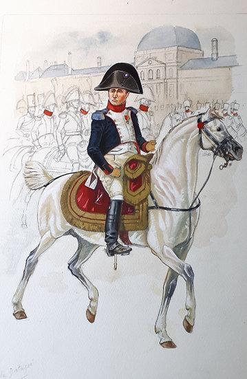 N&B Tirage 08 - Napoléon Garde Nationale