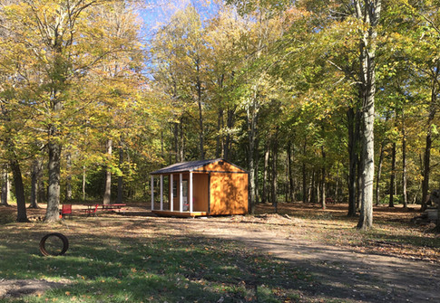 River Side Cabins and campsites at Black River Trails Campground