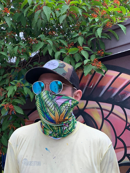 Bird of Paradise - Face Covering/Buff