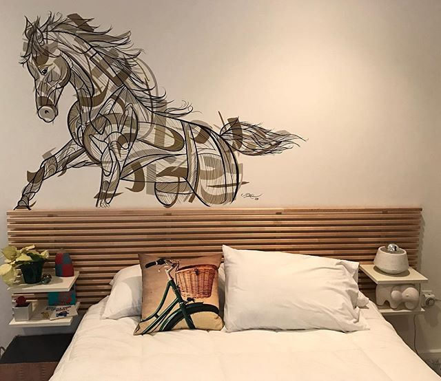 Horse Mural Painting